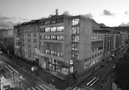 PARIS, Médiathèque Hélène Berr – Restructuration lourde et extension