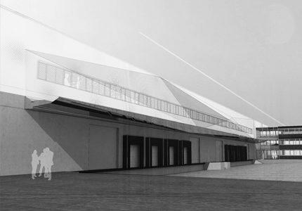 AÉROPORT DE ROISSY CHARLES DE GAULLE- Réhabilitation bâtiment 3520 – Gare de Fret GB4