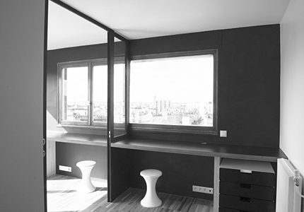PARIS – réhabilitation et transformation d'un appartement