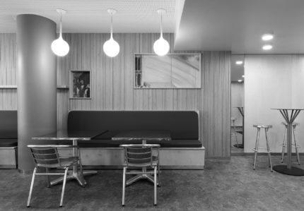 SAINT-OUEN – Réaménagement de la cafétéria d'entreprise – EDF Cap Ampère